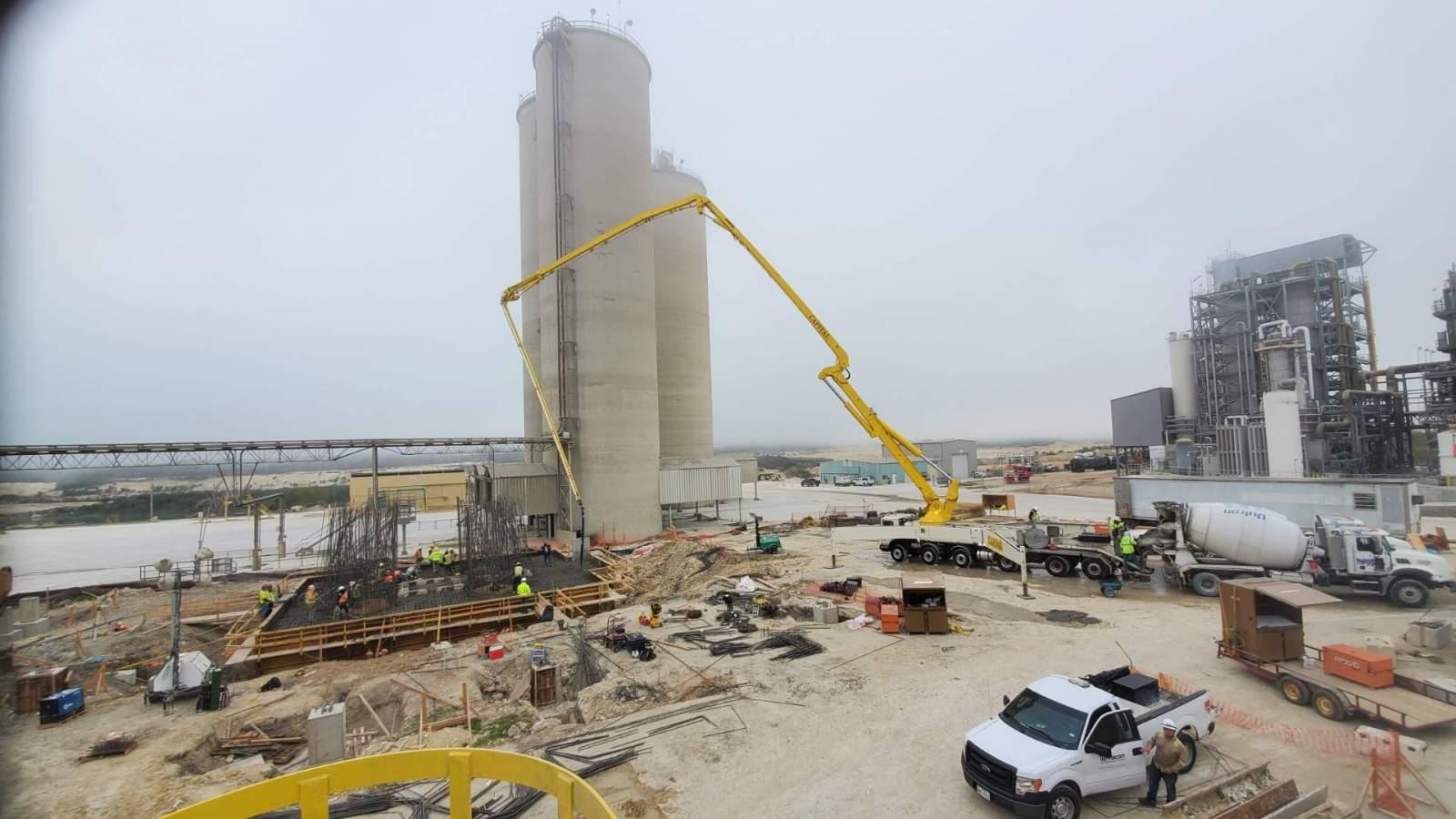 capitol - OK Mill Foundation Concrete Pour Phase 1